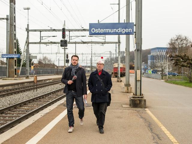 «Du musst nicht nach Ostermundigen gehen. Ostermundigen ist überall», sagt Benedikt Loderer.