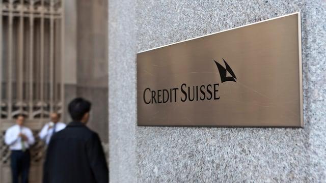 Purtret da la Credit Suisse a New York.