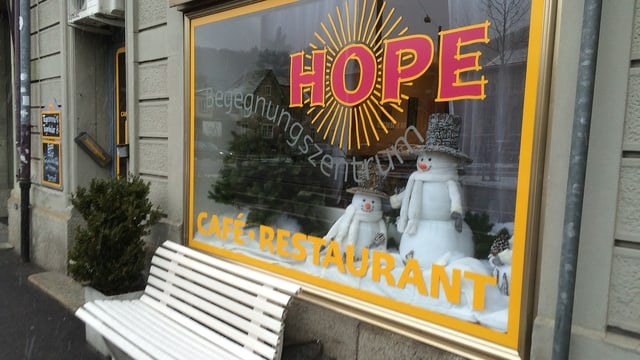 Begegnungszentrum «Hope» in Baden.