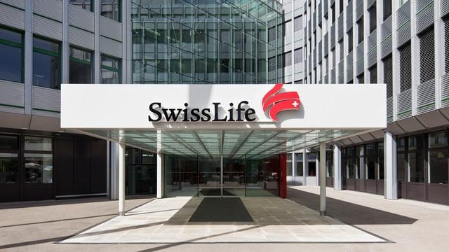 Entrada principala da Swiss Life a Turitg.