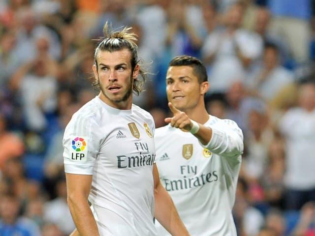 Gareth Bale und Cristiano Ronaldo