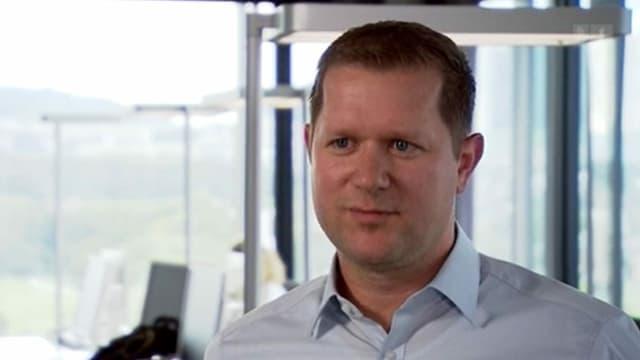 Roger Lötscher Leiter Personal-Transformation bei Postfinance.