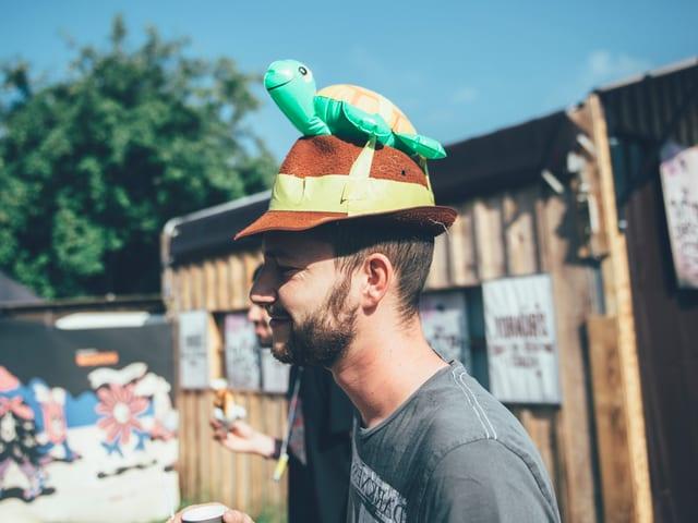 Schildkröten-Hut