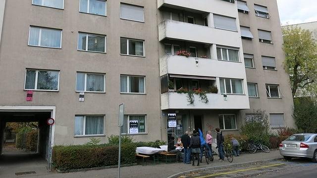 Haus an der Mülhauserstrasse.