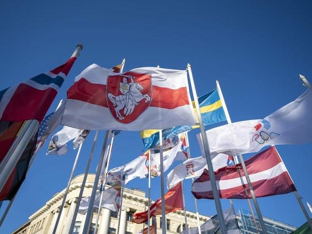 Flaggen.