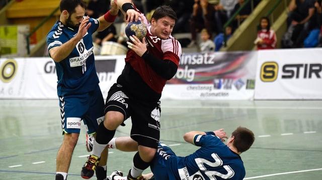Spieler des HSC Suhr Aarau