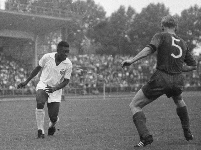Pelé auf einer Aufnahme von 1959
