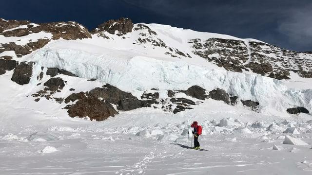 Bergführer im Schnee