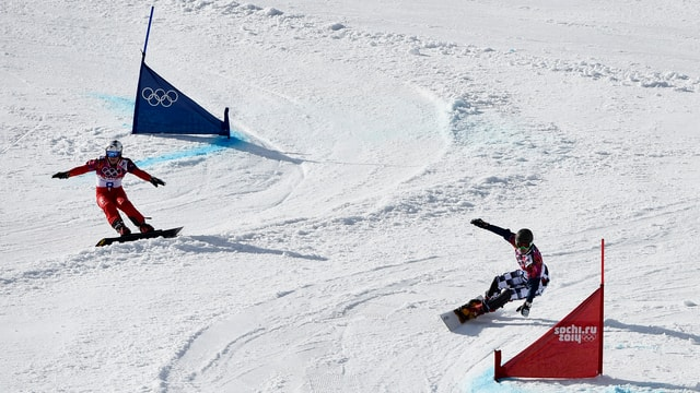 Die Schweizer Alpin-Snowboarder haben auch im Parallel-Slalom Chancen auf Edelmetall.