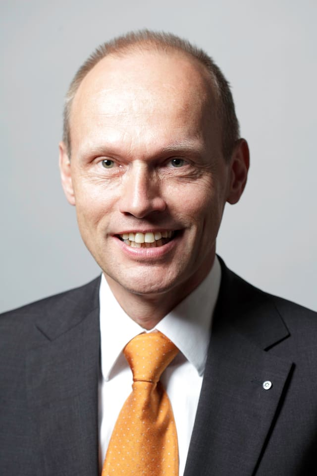 Portrait des Bankratspräsidenten der ZKB, Jörg Müller-Ganz