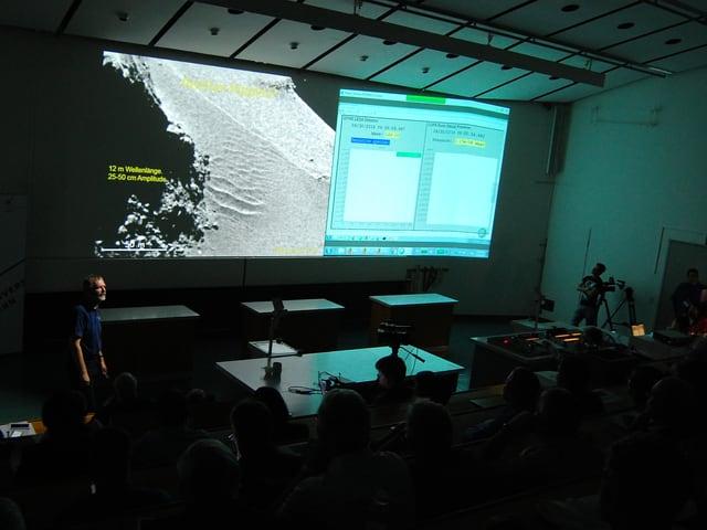 Hörsaal der Uni Bern