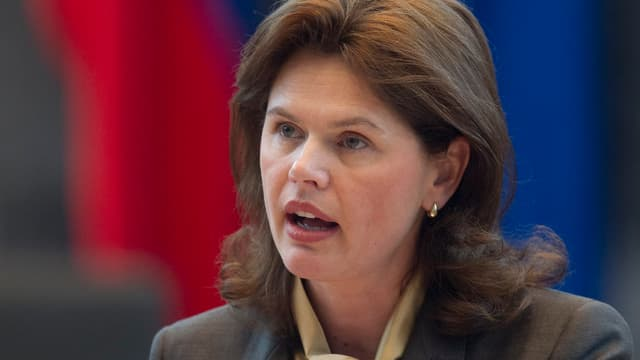 Die neue slowenische Regierungschefin Alenka Bratusek.
