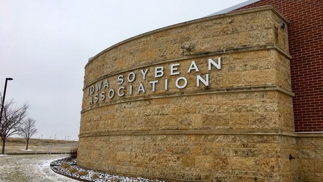 Geschäftshaus der Iowa Soybean Association.