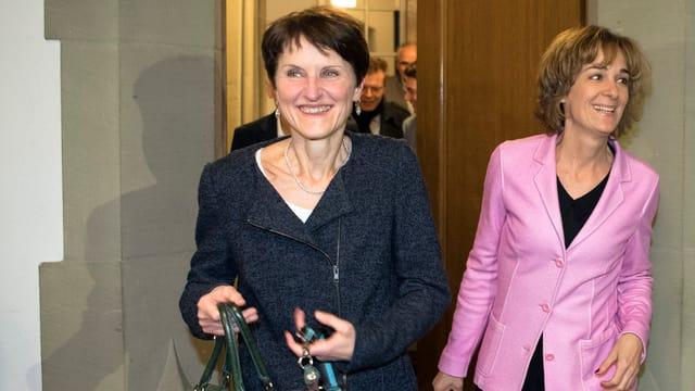 Franziska Teuscher und Ursula Wyss