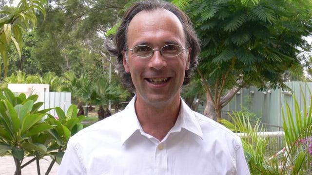 Portrait Pfarrer Tobias Brandner