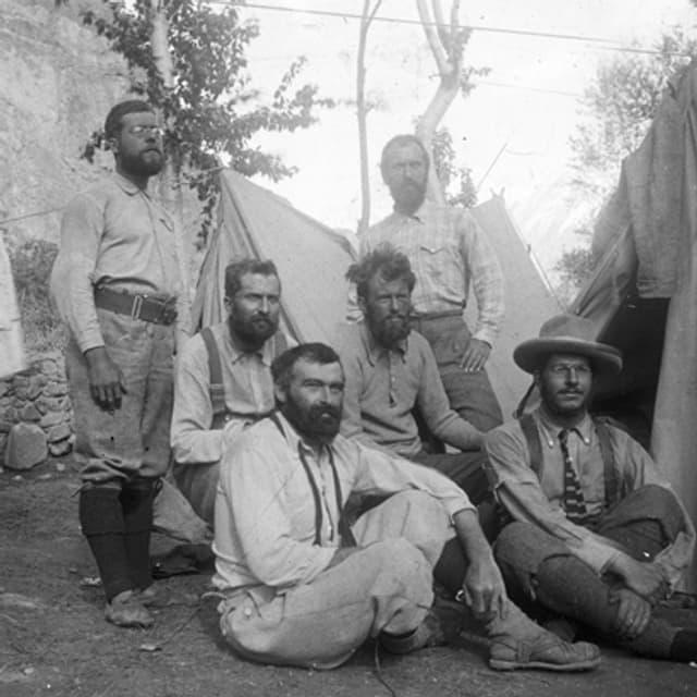 Aufnahme von 1902, Expeditionsmannschaft K2