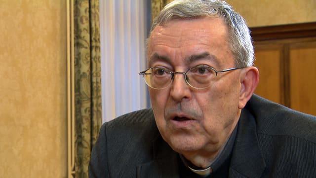 Bischofsvikar Christoph Casetti.
