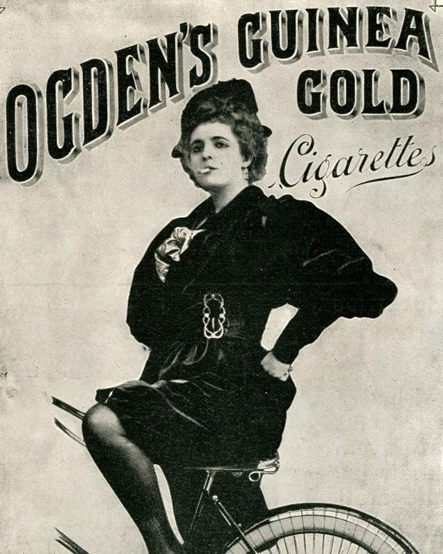Zigarettenwerbung