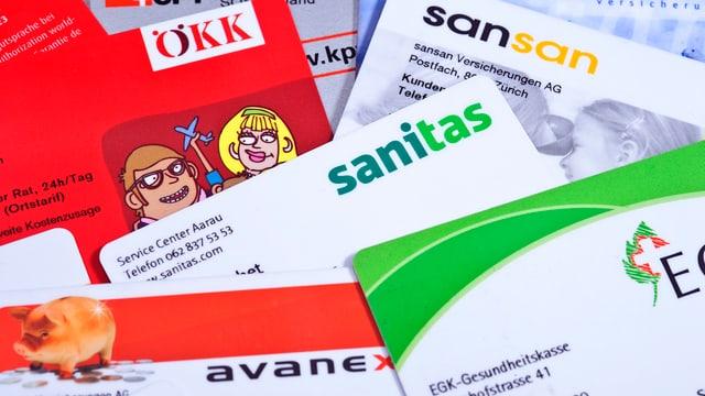 Cartas da differentas cassas da malsauns.