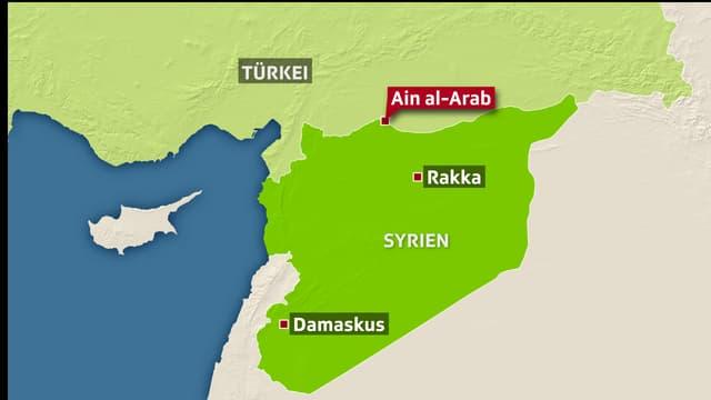 Kämpfe in Nordsyrien