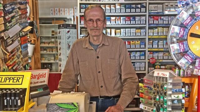 hausi Denz im Kiosk