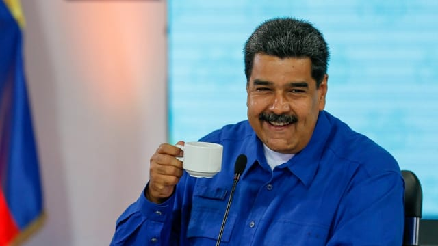 Präsident Maduro.