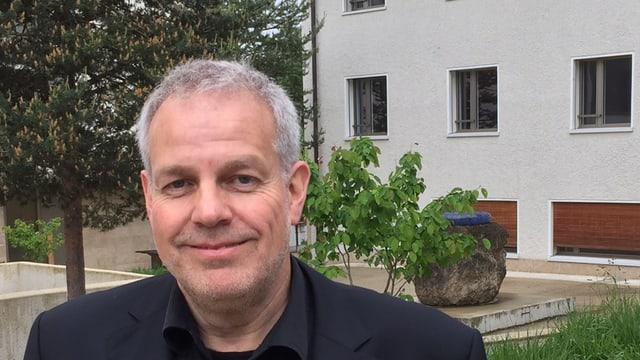 Heimleiter Rolf von Moos.