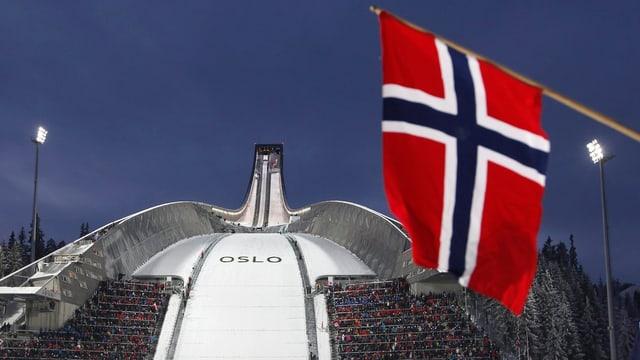 Der Holmenkollen in Oslo.