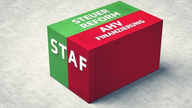 Video ««Abstimmungs-Arena»: Steuerreform und AHV-Finanzierung (STAF)» abspielen