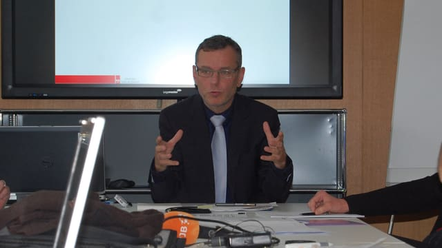 Bieler Gemeinderat Beat Feurer.