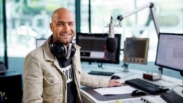 Tobia Valär - Moderator des Radio Rumantschs