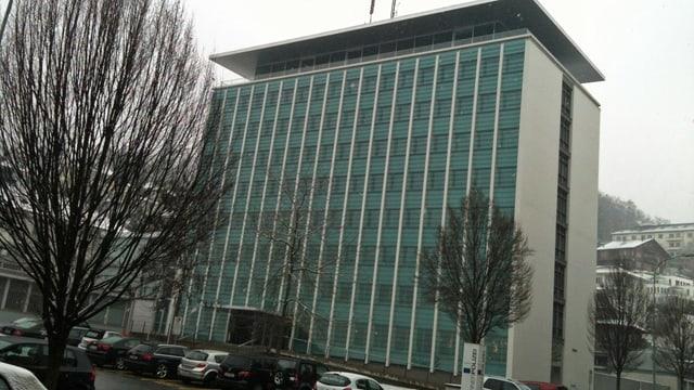 Hauptgebäude der Luzerner Polizei