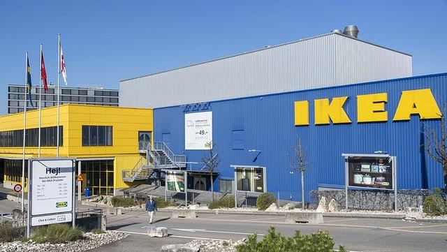 In bajetg dal concern da mobiglias Ikea.
