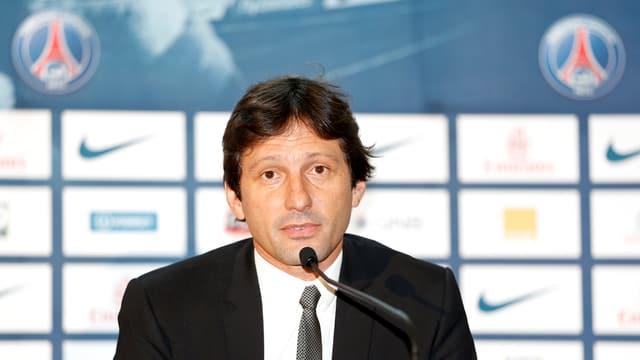 In Zukunft finden die Medienkonferenzen bei Paris SG ohne Leonardo statt.