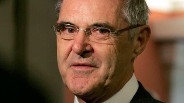 Porträtfoto von Giusep Nay, ehemaliger Bundesgerichtspräsident