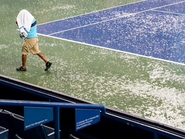 Regen in Cincinnati