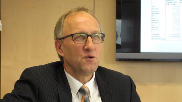 Portrait von Peter Hegglin, Finanzdirektor Kanton Zug.