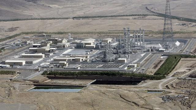 eine Atomverarbeitungsanlagae im Iran