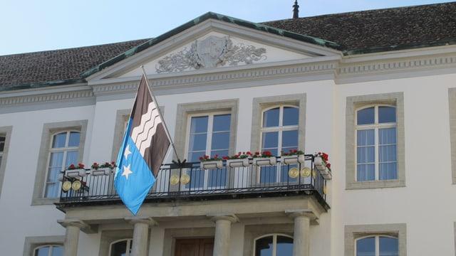 Regierungsgebäude in Aarau.