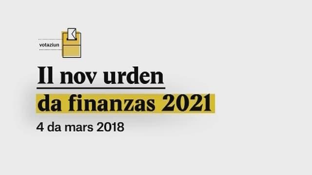 Laschar ir video «Explainer: Il nov urden da finanzas 2021»