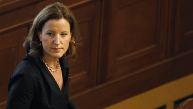 Lidem-Parteichefin Karolina Peake
