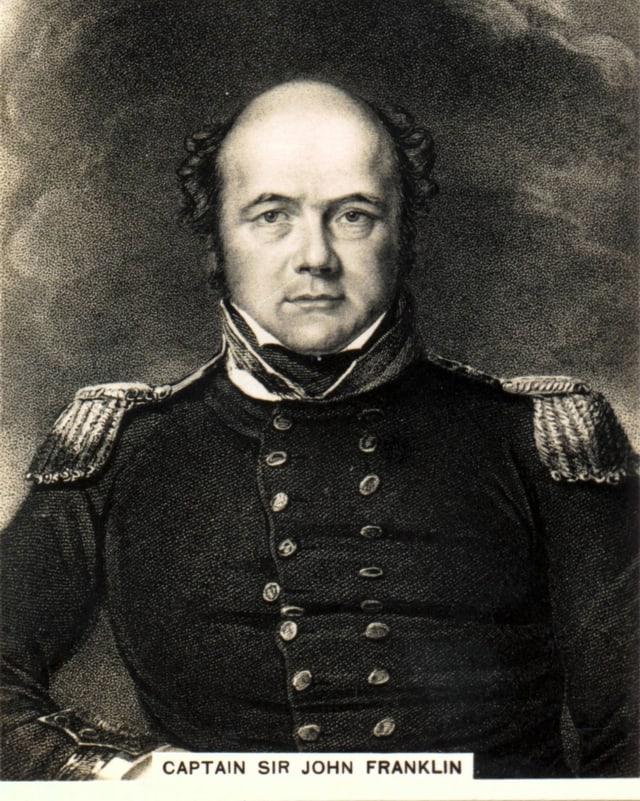 Porträt von Sir John Franklin