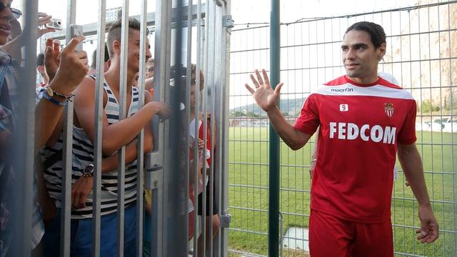Der neue Star in Monte Carlo heisst Radamel Falcao.