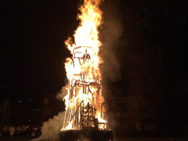 Chluri brennt
