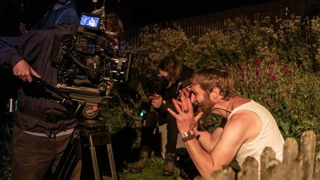 Scena da notg - filmada dal team da producziun