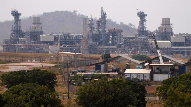 Gasförderungs-Anlage
