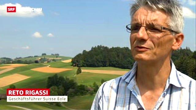 Suisse-Ecole-Chef Reto Rigassi.