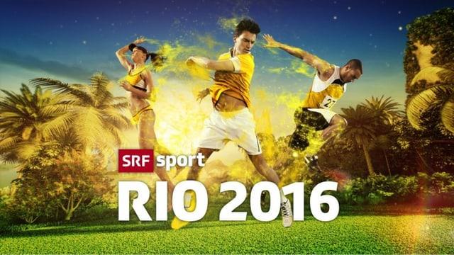 Logo SRF Sport RIO 2016
