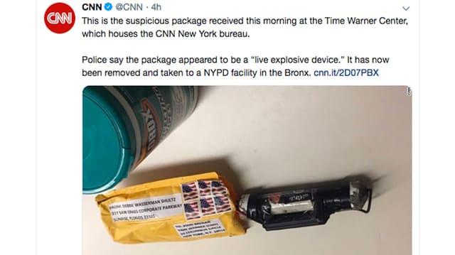 Paketbombe.
