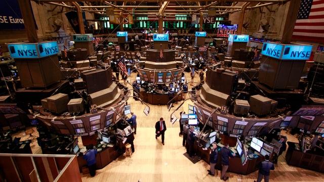 Börsenparkett New York